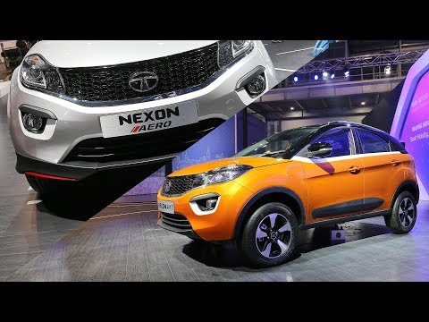 Tata Nexon AMT & AERO Body Kit | First Look | Auto Expo 2018 | ZigWheels.com
