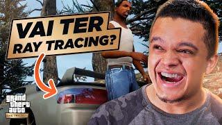 REACT DO TRAILER DE GTA TRILOGY!! Mudou Muito?