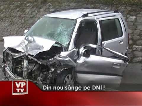 Din nou sânge pe DN1!