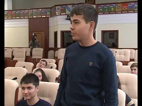 Курские старшеклассники побывали на экскурсии в областной Думе