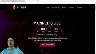 Новая криптовалюта Ether-1(ETHO) майнинг на BaikalMine