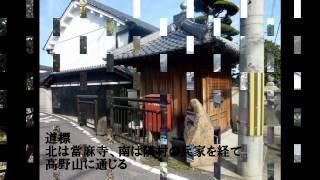 奈良竹ノ内街道を行く
