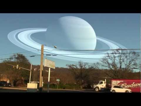 Jos kuu korvattaisiin aurinkokuntamme planeetoilla – Hieno video