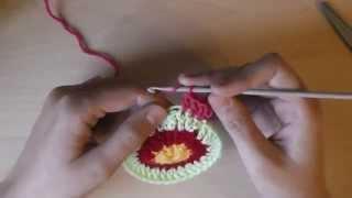 Круглый чехол на табурет: правило вязания круга - 3