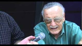 Stan Lee talks about TV roles and new comic book projects at DragonCon 2010