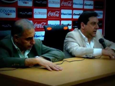 Conferencia de Prensa III Tema Campo de Deportes Jorge Newbery