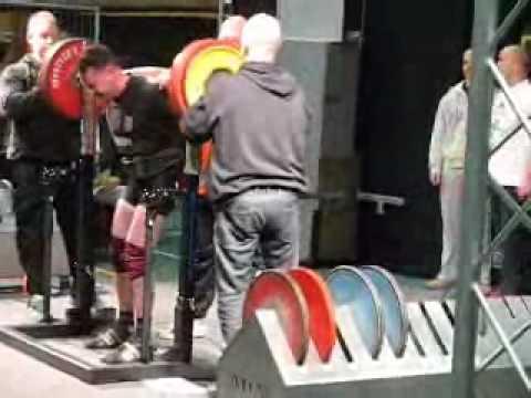 Wil Renkens NK Powerlifting 2010 in Cuijk