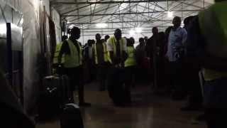 preview picture of video 'Выдача багажа в Порт Харкорт / Arrival Hall in Port Harcourt'