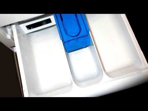 Куда засыпать порошок в стиральной машине в какой отсек?
