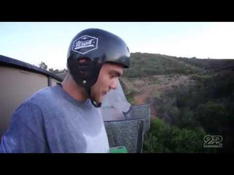 Italo Penarrubia crazy trick at mega ramp  gnarly skateboard