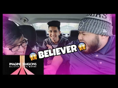 Imagine Dragons - Believer (Audio) Ft. Lil Wayne / Reaction!! They Killed It!!! - A.K.A