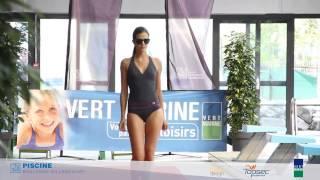 preview picture of video 'Défilé Laure Manaudou design - 2 Juillet 2014 à Boulogne-Billancourt'