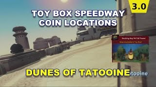 Toy Box Speedway Dunes of Tatooine Coin Locations Disney Infinity 3.0