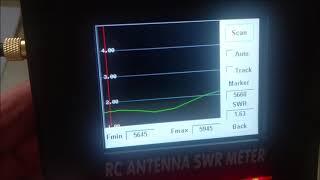 TrueRC singularity 5.8Ghz Antenna SWR not as advertised