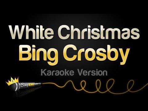 Bing Crosby - White Christmas (Karaoke Version)