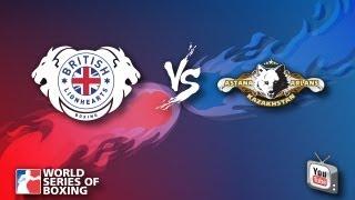 British Lionhearts vs. Astana Arlans Kazakhstan - Week 8 - WSB Season 3