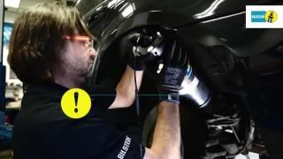 Монтаж пневмопідвіски на заднью вісь BMW 7-серії