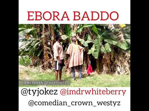 EBORA BADDO with @tyjokez @Iamdrwhiteberry @comedian_crown_westyz