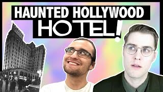 STAYING IN A HAUNTED HOTEL! with DREW MONSON