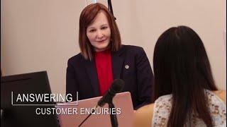 NTU Singapore's social robot Nadine starts work as a receptionist
