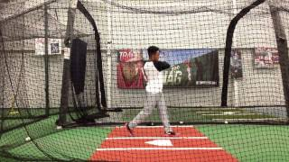 Justin springer 2016 top outfield prospect hitting film