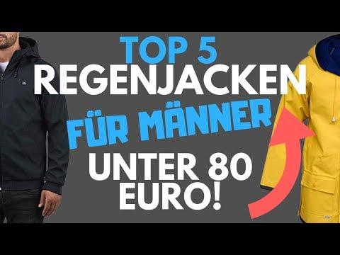 Regenjacke Herren / Herren Regenjacken  - TOP 5 unter 80 EURO! - Übergangsjacke Herren
