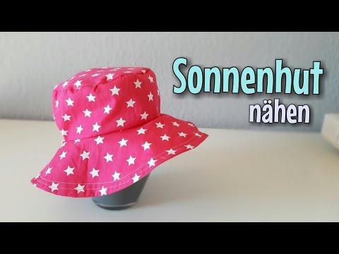 Kinder Sommerhut - Nähanleitung - OHNE Schnittmuster - Anfänger - Nähtinchen
