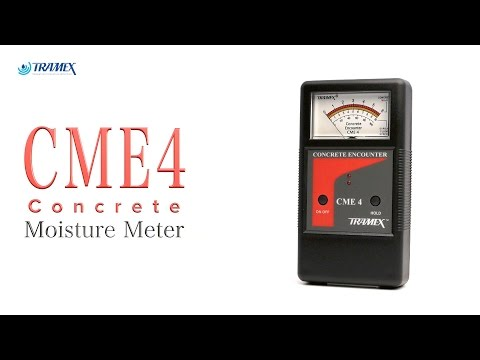 CME4 Concrete Moisture Meter