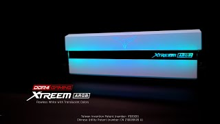TeamGroup T-Force DDR4-4000 CL18-24-24 XTREEM ARGB 화이트 패키지 서린 (32GB(16Gx2))_동영상_이미지