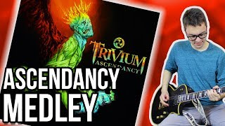 Awesome Guitar Riffs You Should Learn!! || Trivium Ascendancy Medley
