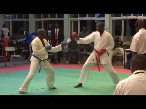 Kenya Karate Team At The Technical University Mp4