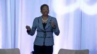 Pearls of Wisdom by Carla Harris at United Way event in Orange County