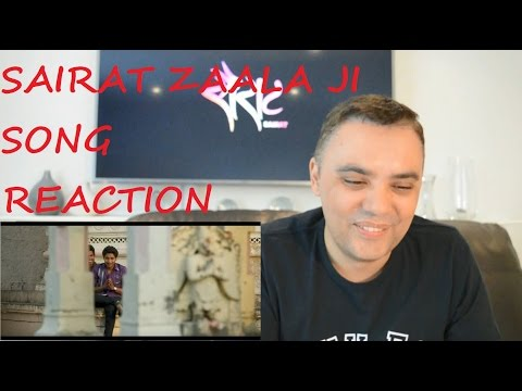 ROBERT REACT SAIRAT ZAALA JI FULL SONG REACTION REVIEW