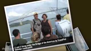 preview picture of video 'Bridge of the Americas - Panama City, Panama'