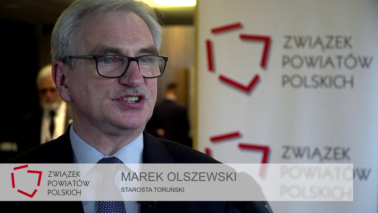 Starosta Toruński Marek Olszewski podczas XXIV Zgromadzenia Ogólnego ZPP