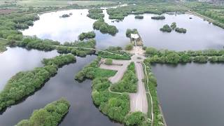 Attenborough Nature Reserve with my DJI Phantom 3 Pro
