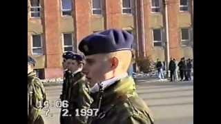 preview picture of video 'Vojenská přísaha Kroměříž 1997'