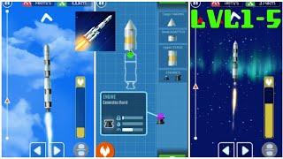 Rocket Craft | All Levels Gameplay Walkthrough [ Android | iOS ] #1