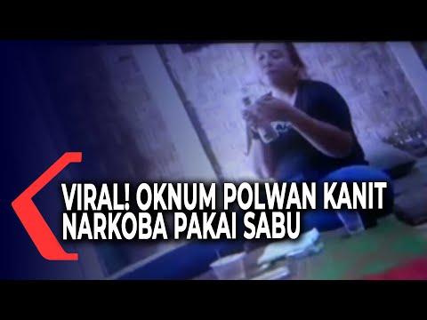 viral oknum polwan kanit narkoba polres mesuji pakai sabu