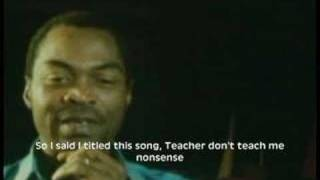 Fela Kuti on Colonial mentality