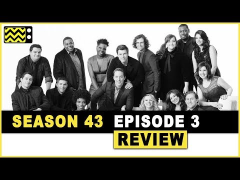 Saturday Night Live Season 43 Episode 3 Review & Reaction | AfterBuzz TV