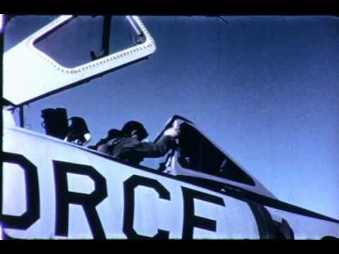 F-0594 Convair F-102 Delta Dagger Video