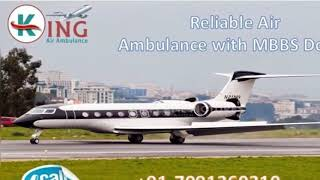 Take Superior Air Ambulance in Bagdogra with Medical Facility