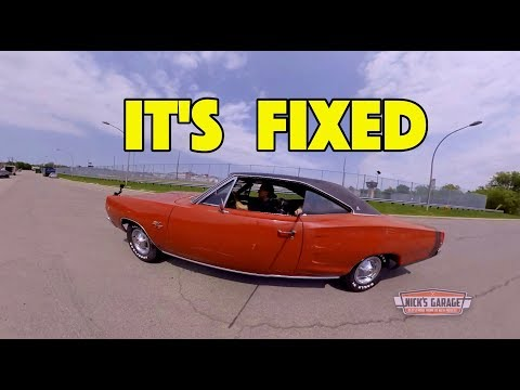 1968 Coronet R/T 4 Speed Rises From The Dead