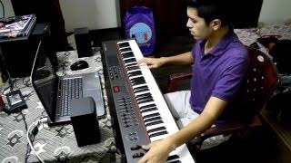 Regret #9 - Shantanu Mukherjee   Adam Holzman Keyboard Solo Cover