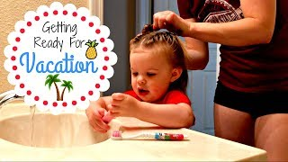 Vacation Preparation | How I Do Mia's Hair & A Blonde Moment | May 29th 2017