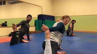 Yoga Session at Groundfighter Salzburg