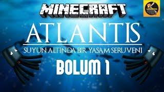 Minecraft Suyun Altında Yaşam #1