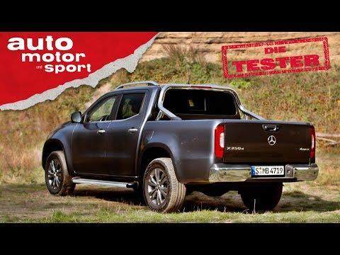 Mercedes X250d: Nur ein Nissan mit Stern? - Test/Review | auto motor und sport