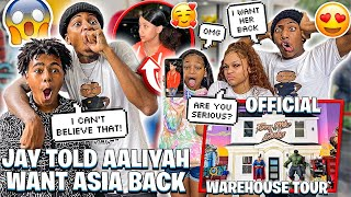 JAY TOLD AALIYAH HE WANT HIS EX BACK & OFFICIAL FURNISHED WAREHOUSE TOUR!